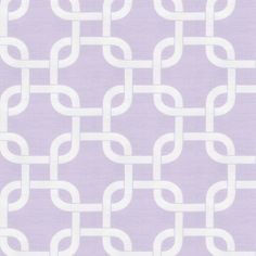 """Lilac Geometric Fabric Sold by the Yard  Soft Lilac and Antique White come together to create this fabulous Modern design. Featured on a soft 100% Cotton Twill this fabric is gorgeous used alone or combined other fabrics to create a classic and unique look.  100% Cotton  This is a Twill weight fabric.  Pattern: 3 13/16"""" Horizontal by 4 3/16"""" Vertical repeat  Machine or hand wash separately, delicate cycle, cold water, mild detergent. Do not bleach. Line dry or tumble dry, low heat…"""