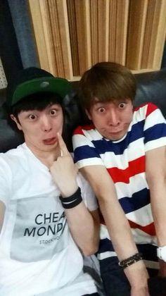 Sungjae and Eunkwang being adorable idiots