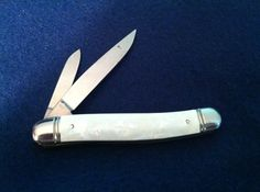 Vintage  Imperial  Serpentine Pocket Knife by ABALONESCALESKNIVES