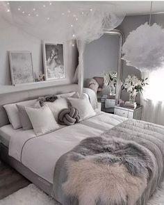small bedroom design , small bedroom design ideas , minimalist bedroom design for small rooms , how to design a small bedroom Dream Rooms, Dream Bedroom, Home Decor Bedroom, Bedroom Interiors, Diy Bedroom, Classy Bedroom Decor, White Bedroom Decor, Bedroom Romantic, Bedroom Girls