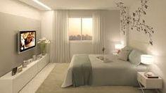 ideias para quartos casal pequenos - Pesquisa do Google