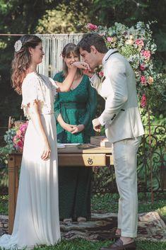 eloqüente wedding no campo