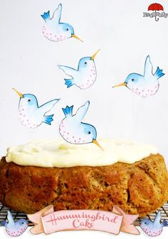 Hummingbird Cake - cinnamon, pecans, pineapple...so lovely and good! Makes me want to head to the store- I am out of pineapple!