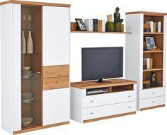 Wohnwand Living Room Remodel, Home Living Room, Tv Wanddekor, Utility Room Designs, Tv Cabinet Design, Muebles Living, Tv Wall Decor, Room Design Bedroom, Tv Furniture