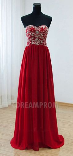 red prom dress beading dresses http://www.proms2016.com/prom-dresses-us63_1
