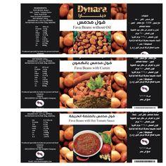 Dynara foul label design