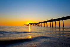 Sunrise over Deal (Kent, England)