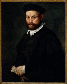 Vincenzo Campi - Ritratto di Giulio Boccamaggiore - 1569 - percorso Volti - Accademia Carrara di Bergamo Pinacoteca