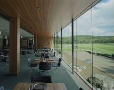 Gallery of Blessings Golf Clubhouse and Guardhouse / Marlon Blackwell Architect – 10 Blessings Golf Clubhouse and Guardhouse,© Tim Hursley Clubhouse Design, Golf Range, Golf Training Aids, Design Competitions, Best Interior Design, Interior Ideas, Golf Fashion, Golf Outfit, Golf Tips