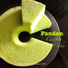 Baking Taitai 烘焙太太: Healthy Pandan Chiffon Cake 健康香兰戚风蛋糕 (中英加图对照食谱)