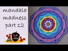 Video tutorial Mandala Madness week 12 | It's all in a Nutshell