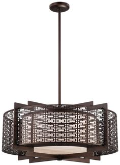 133 best mission asian pendant lighting images on pinterest four light pendant from the atelier collection shown in cimarron bronze by metropolitan lighting n6972 aloadofball Image collections