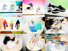more photos of Katy's new shoes! #katyperryfootwear