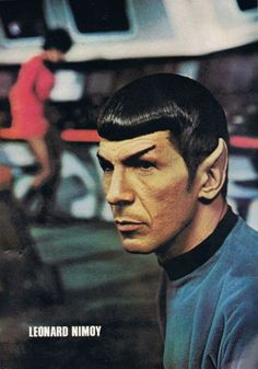 Spock/ [repin every Nimoy photo]