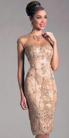 Elegant beaded cocktail dresses