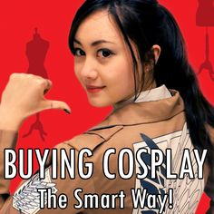 Cosplay vlog! Tips for buying costumes by Sachie - click the pic to watch!