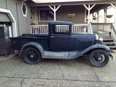 1931 Model A Ford Widebed Pickup