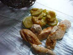 Papilles On/Off: Poulet au curry, lait de coco et ses courgettes au thermomix