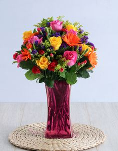 Brighten the day of an incredible leader with Boss's Day flowers as bright as these mixed flowers. When it comes to Boss's Day gifts, a bright flower arrangement is the perfect thing to drop on their desk! Appreciate their leadership skills and explore our Boss's Day ideas to make their day. Nothing will make them happier than these wonderful gifts. Boss Day Messages, Happy Boss's Day, Bosses Day Gifts, Incredible Gifts, Bright Flowers, Flower Arrangements, Leadership, Things To Come, The Incredibles