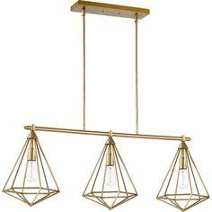 Quorum Bennett Transitional Island Pendant Linear Chandelier, Chandelier Shades, Pendant Lighting, Ceiling Pendant, Contemporary Pendant Lights, Kitchen Island Lighting, Satin, Ceiling Lights, Decor