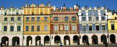 zamosc poland - important castle town