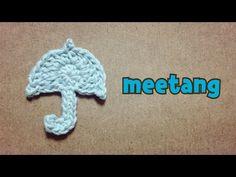 雲のモチーフの編み方 How to crochet a cloud - YouTube