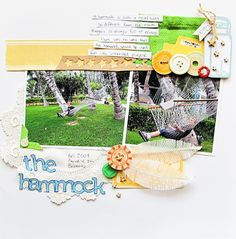 Mix Vintage Looks With Modern Punch on Your Scrapbook Pages | Scrapbook Page by Christy Strickler | GetItScrapped.com/blog