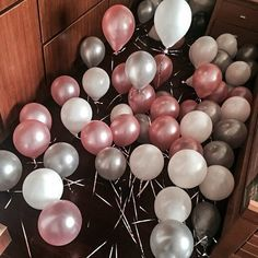 PartyWoo Party Balloons 12 inch Pearl Colour Latex Balloons 100 Packs for Kids Party Supplies Wedding Decoration Baby Shower Christmas Decoration or Birthday Decoration - Pink/White/Grey List Price: $12.99 Deal Price: $11.69 You Save: $1.30 (10%) PartyWoo Party Balloons 12 inch Pearl Colour Latex Balloons 100 Packs for Kids Party Supplies Wedding Decoration Baby Shower Christmas Decoration or Birthday Decoration - Pink/White/Grey Expires Aug 27 2017