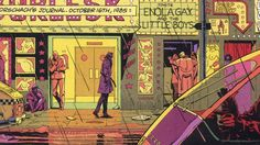 dave gibbons - composition and coloration