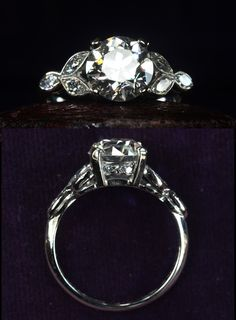 1920's art deco ring