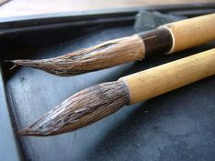 Japanese Calligraphy Paint Brushes
