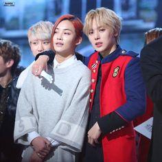 Jeonghan (Seventen) & Minhyuk (Monsta X) Hyungwon, Kihyun, Jooheon, Jeonghan, Woozi, Wonwoo, Rap, Hip Hop, Monsta X Minhyuk