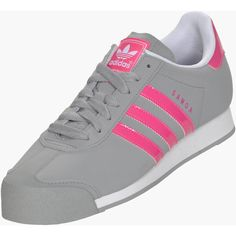 Women's adidas Samoa Casual Shoes ($50) ❤ liked on Polyvore featuring shoes, adidas, 80s shoes, lace up shoes, laced shoes, 80s fashion and laced up shoes