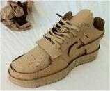 schoen surprise Cardboard Model, Cardboard Sculpture, Cardboard Art, Paper Model Car, Paper Models, All Black Sneakers, Sneakers Nike, Painted Sneakers, Ap Studio Art