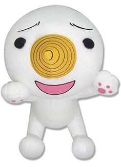 """Great Eastern GE-52505 Animation Official Fairy Tail Anime Plue/Nikora Plush, 7"""" Great Eastern"""