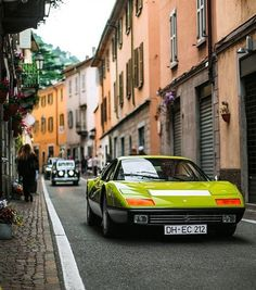 Lamborghini – One Stop Classic Car News & Tips Automotive Photography, Car Photography, Classic Motors, Classic Cars, Porsche Classic, Ferrari Berlinetta, Ferrari Mondial, Classic Road Bike, Car In The World