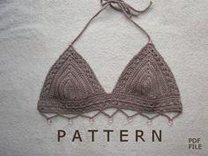 Crochet Bikini Pattern by crochetincolor on Etsy