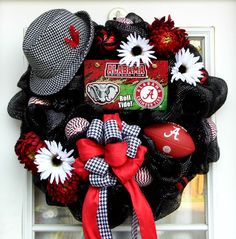Alabama Crimson Tide Bama Roll Tide Football by HolidaysAreSpecial, $149.99