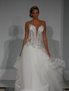 Pnina Tournai Wedding Gown