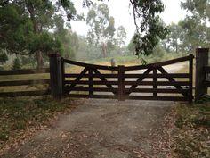 Merbau Farm Gates