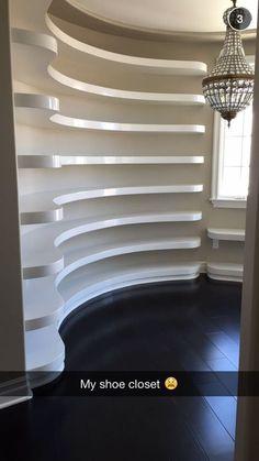 59 Trendy Ideas For House Goals Closets Dressing Rooms Dream Closets, Dream Rooms, Future House, My House, Jenner House, Million Dollar Homes, Closet Designs, Beauty Room, House Goals