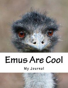 Emus Are Cool: A Cute Emu Design Notebook/Journal with 110 Lined Pages x Journal Notebook, Journals, Indie Books, Cool Notebooks, Lined Page, Emu, Amazon, Cute, Animals