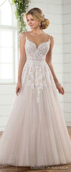 Wedding Dress by Essense of Australia Fall 2017 #weddingdress