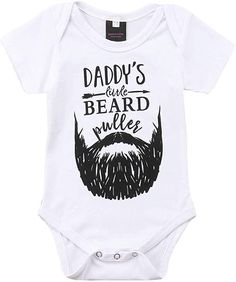 Amazon.com: Newborn Baby GOT My Mind ON My Mommy Paws Funny Bodysuits Rompers Outfits Grey White 0-18M: Clothing Baby Daddy Shirt, Baby Boy Romper, Boy Onesie, Baby Girl Newborn, Baby Girls, Baby Girl One Pieces, Romper Outfit, Baby Wearing, Baby Boy Outfits
