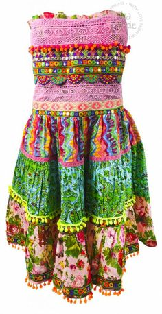 Dress Printed Antica Sartoria - Multi