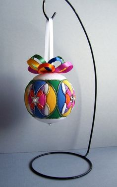 Kimekomi Christmas Ornament by OrnamentDesigns on Etsy, $25.00