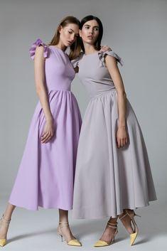 Платье «Кэнди» лаванда, Платье «Кэнди» жемчужная, Цена — 27 990 рублей