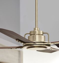 """Never has a ceiling fan made me stop and say """"oh, wow""""—until I saw this one. The Peregrine Industrial fan from Rejuvenation is sleek, stylish and pretty(?!). No matter how much we like the look of a pretty pendant or chandelier, some of us just simply live in environments (or with husbands) that require a …"""