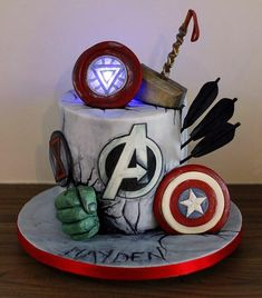 Pretty Image of Thor Birthday Cake . Thor Birthday Cake Avengers Cake Hulk Ironman Thor Captain America Blackwidow Hawkeye birthday cake Pretty Image of Thor Birthday Cake Birthday Cake 30, Captain America Birthday Cake, Avengers Birthday Cakes, Captain America Cake, Birthday Cake Pictures, Superhero Birthday Party, Tumblr Birthday Cake, Birthday Ideas, Thor Cake