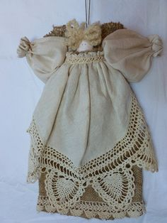 Hey, I found this really awesome Etsy listing at https://www.etsy.com/listing/247516123/angel-dollrustic-crocheted-doiliemade